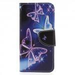 Koženkové pouzdro Honor 9 Lite - Motýli 04