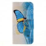 Koženkové pouzdro Honor 9 Lite - Motýli 05