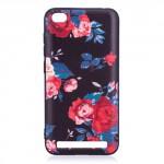 Pouzdro Xiaomi Redmi 5A - Květy 01
