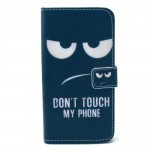 Pouzdro Galaxy Samsung S6 Edge - Don't touch my phone
