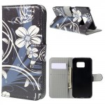 Pouzdro Samsung Galaxy S6 Edge - Květy 03