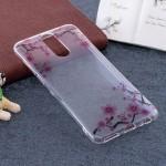Pouzdro / Obal  Huawei Mate 10 Lite - průhledné - květy 02