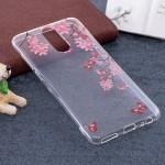 Pouzdro / Obal  Huawei Mate 10 Lite - průhledné - květy 03