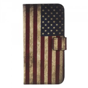 Pouzdro Honor 9 Lite - Vlajka USA