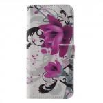 Pouzdro Huawei P20 Lite - Květy 01