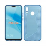 Pouzdro S-Curve Huawei P20 Lite - modré