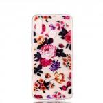 Pouzdro Huawei P20 Lite - průhledné - Květy