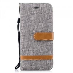 Pouzdro Huawei P20 - Textil - Šedé