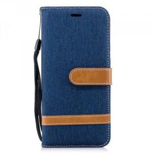 Pouzdro Huawei P20 - Textil - Modré