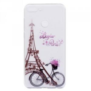Pouzdro Honor 9 Lite - průhledné - Eiffelovka