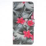 Pouzdro Huawei P Smart - Květy 02