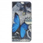 Pouzdro Huawei P Smart - Motýl 04