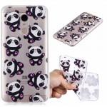 Pouzdro Xiaomi Redmi 5 Plus - průhledné - panda