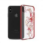 Kryt / Obal iPhone X - Fénix - s kamínky Swarovski