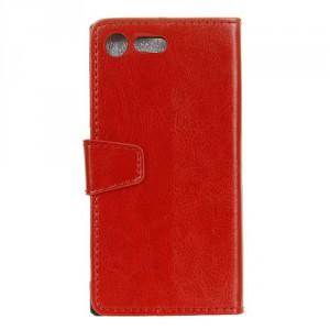 Koženkové pouzdro Xperia XZ1 Compact - Červené