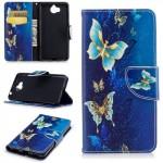 Pouzdro Huawei Y6 2017 - Motýli 10