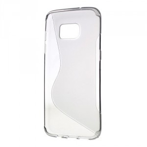 Pouzdro S-Curve Galaxy S7 Edge - Šedé