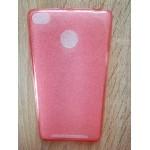 Pouzdro / Obal Xiaomi Redmi 3s - Tenké průhledné růžové
