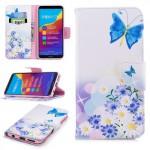 Pouzdro Huawei Y7 Prime 2018 - Motýl 01