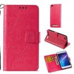 Pouzdro Xiaomi Redmi 5A - motýli - růžové