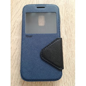 Sleva - pouzdro S-View Galaxy S5 Mini - modré