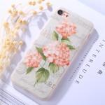 Pouzdro / Obal iPhone 7, iPhone 8 - Květy 02
