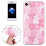 Pouzdro iPhone SE (2020), iPhone 7 , iPhone 8 - průhledné - Květy 04