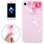 Pouzdro / Obal iPhone 7 , iPhone 8 - průhledné - Květy 06