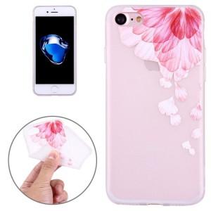 Pouzdro iPhone SE (2020), iPhone 7 , iPhone 8 - průhledné - Květy 06