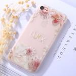 Pouzdro / Obal iPhone 7 , iPhone 8 - průhledné - Květy 07