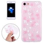 Pouzdro / Obal iPhone 7 , iPhone 8 - průhledné - Květy 08