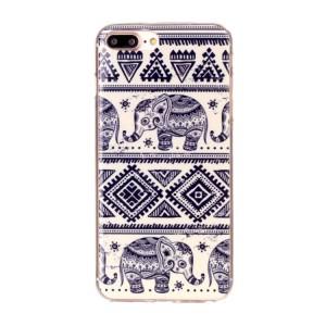 Pouzdro iPhone 7 Plus, iPhone 8 Plus - Sloni