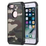 Pouzdro / Obal iPhone 7, iPhone 8 - Kamufláž 02
