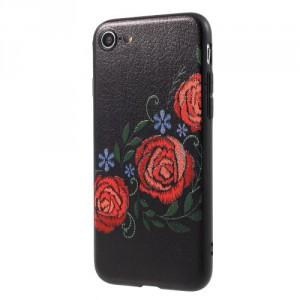 Pouzdro iPhone SE (2020), iPhone 7, iPhone 8 - Květy 10
