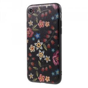 Pouzdro iPhone SE (2020), iPhone 7, iPhone 8 - Květy 12