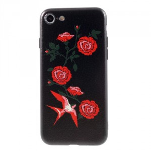 Pouzdro iPhone SE (2020), iPhone 7, iPhone 8 - Květy 13