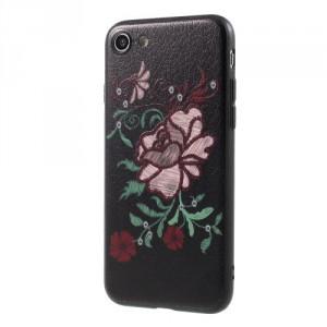 Pouzdro iPhone SE (2020), iPhone 7, iPhone 8 - Květy 17