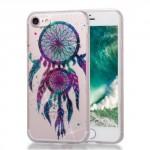 Pouzdro / Obal iPhone 7 , iPhone 8 - průhledné, třpytivé - Lapač snů 05