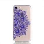 PouzdroiPhone SE (2020), iPhone 7 , iPhone 8 - průhledné - Květy 09
