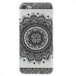 Pouzdro / Obal iPhone 7 , iPhone 8 - průhledné - Květy 10