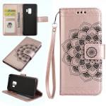 Pouzdro Samsung Galaxy S9 - růžové - Mandala