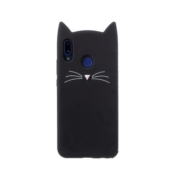 Tvrdá černá kočička