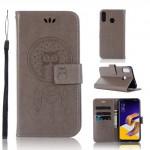 Pouzdro Zenfone 5 ZE620KL - lapač snů - šedé