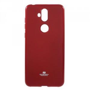 Obal Jelly Case Zenfone 5 Lite ZC600KL - třpytivý - červený