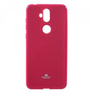 Obal Jelly Case Zenfone 5 Lite ZC600KL - třpytivý - růžový