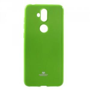 Obal Jelly Case Zenfone 5 Lite ZC600KL - třpytivý - zelený