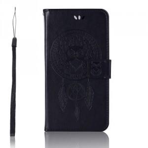 Pouzdro Zenfone 5 Lite ZC600KL - lapač snů - černé
