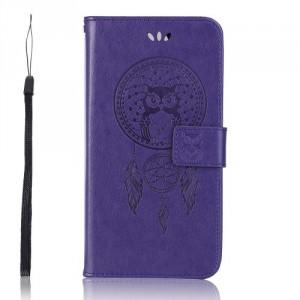 Pouzdro Zenfone 5 Lite ZC600KL - lapač snů - fialové