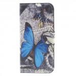 Koženkové pouzdro iPhone 7, iPhone 8 - Motýli 01