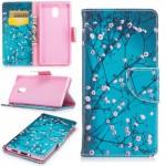 Koženkové pouzdro Nokia 3 - Květy 04